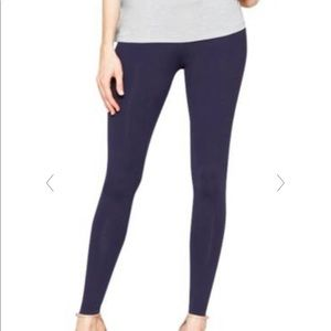 Matty M leggings in Navy Blue, size Small